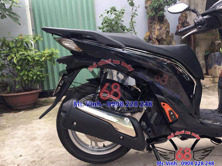 Ốp pô SH 300i mới nhất độ cho xe SH Việt Nam 150/125i 2017