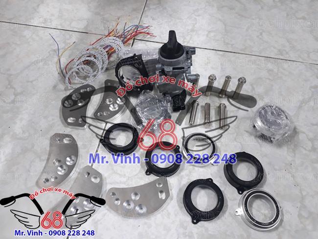 Nắp Ổ Khóa Smartkey Honda Cho Xe SH Ý và EXCITER
