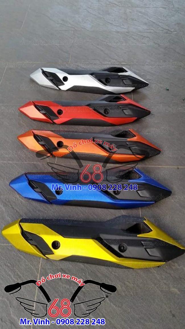 Hình ảnh: Ốp pô Vario đủ màu kiểu mới giá rẻ tại shop đồ chơi xe máy 68 TpHCM Q1