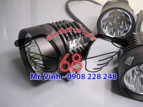 Đèn LED L4X- Đèn trợ sáng xe máy chính hãng