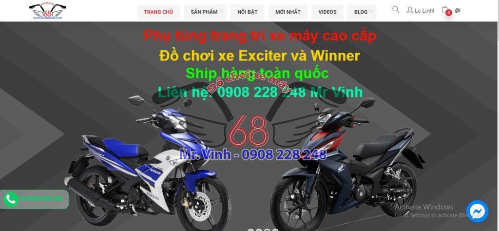 Shop đồ chơi xe máy 68 bán đồ cực rẻ