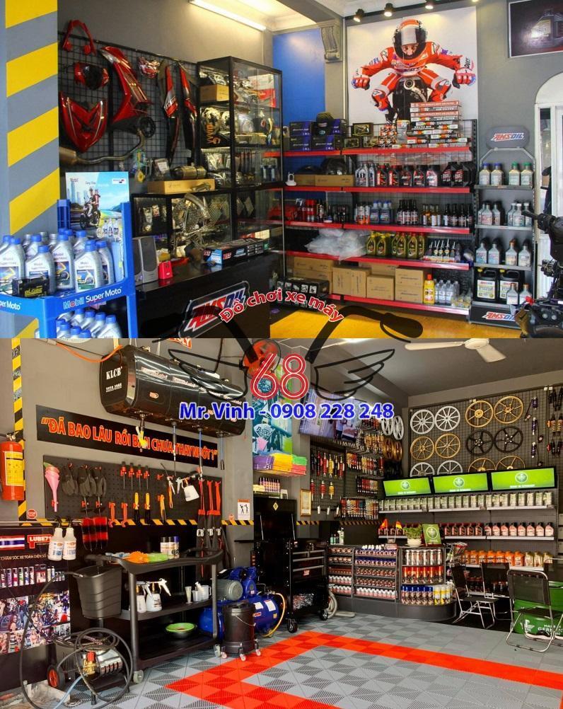 Các cửa hàng bán đồ chơi xe máy xuất hiện ngày càng nhiều