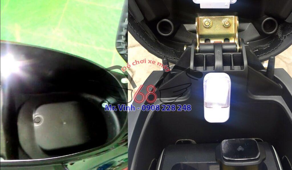 Đèn chiếu sáng cốp xe rất tiện ích