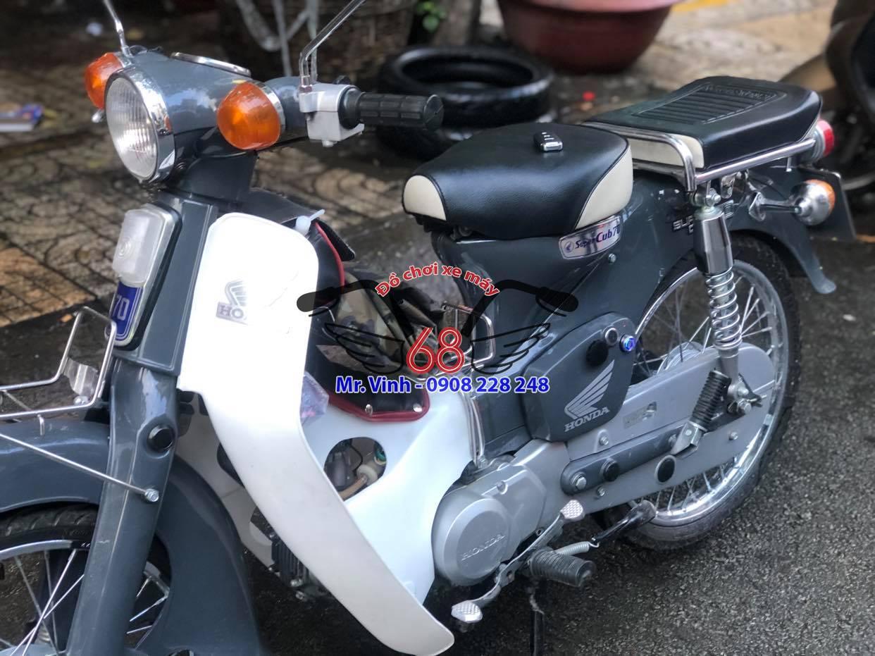 Độ khóa Smartkey cho Honda Super Cub cực chất