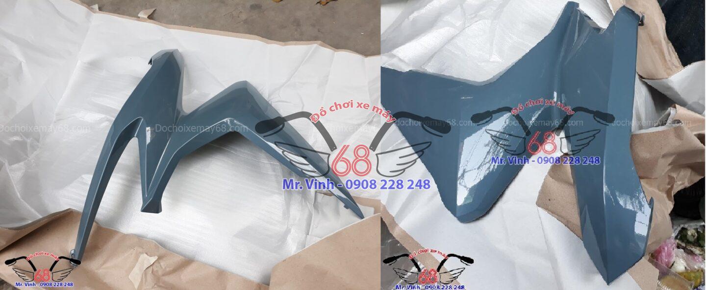 Bửng xe Vario màu xanh