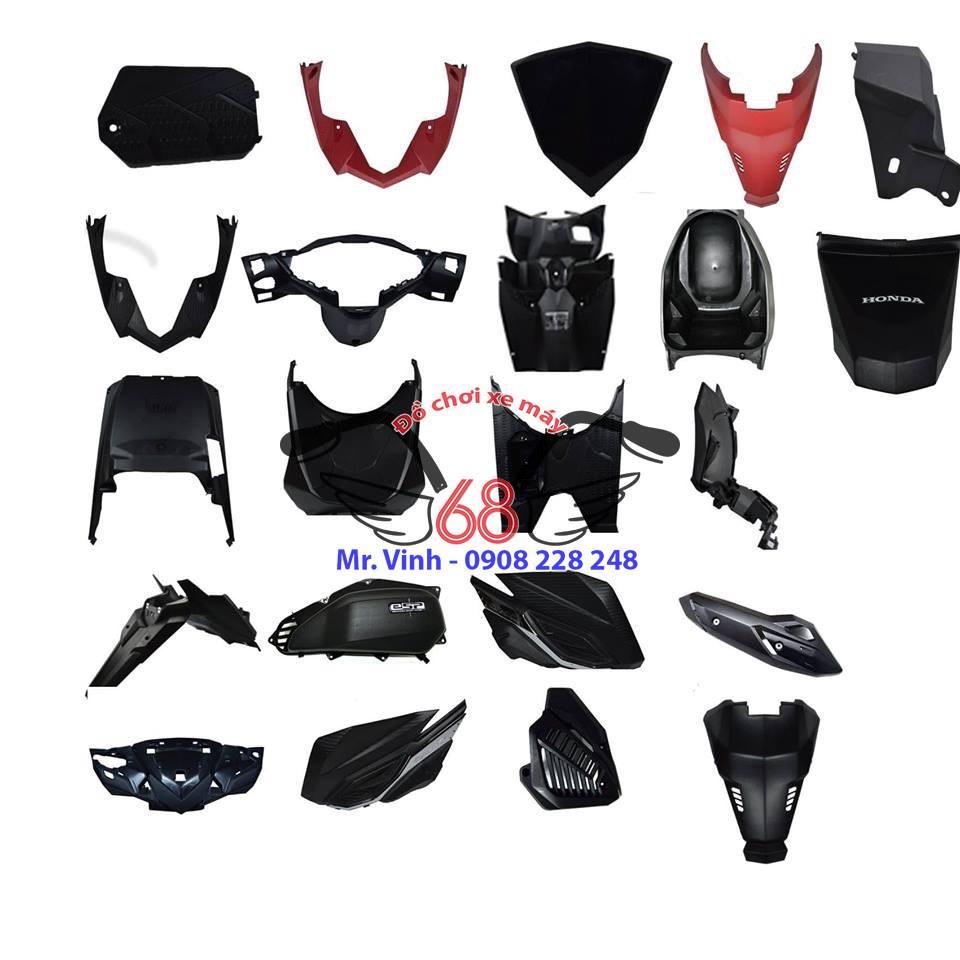 Dàn nhựa đen Vario tại shop đồ chơi xe máy 68