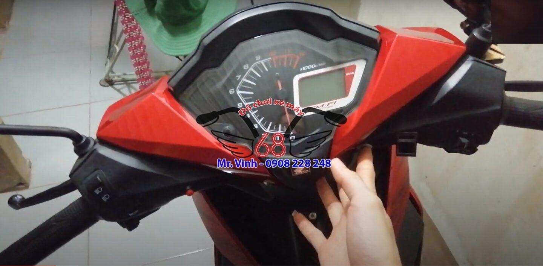 Lắp khóa vân tay cho xe máy để nâng cao bảo mật